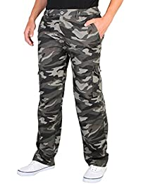 Pantalon Cargo Multipoches (7980-GRY-XXL)
