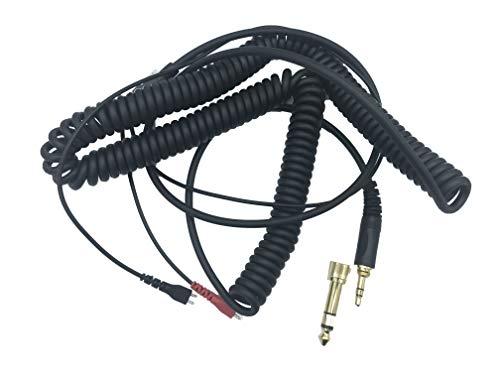 Housse de Coussin Rond en Cuir 70 mm pour Casque Sennheiser HD25 HD25-SP HD25-1 II PC150 PC151 PC155