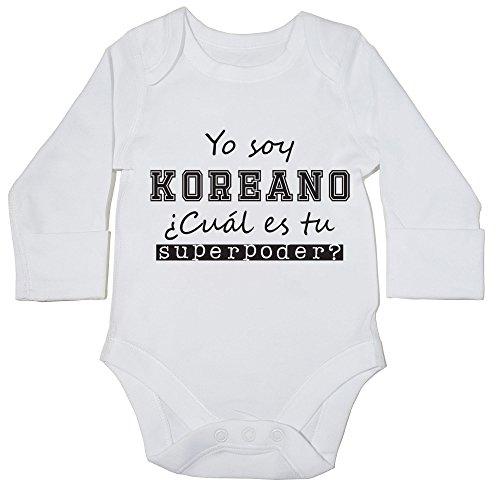 hippowarehouse-soy-koreano-cual-es-tu-superpoder-body-manga-larga-bodys-pijama-ninos-ninas-unisex