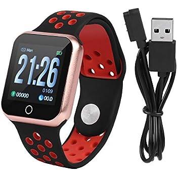 Zerone Fitness Tracker podómetro Smartwatch presión Arterial Ritmo ...