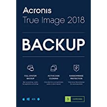 Acronis TI3OB2ENS True Image 2018 License - 3 Computers