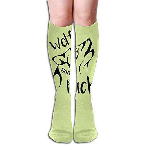 Wolf Baby Knee High Socks, Unisex Tube Compression Thigh Sock Crew Athletic Football Stockings ()