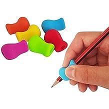 Adaptadores ergonómicos para escritura de diestros y zurdos.