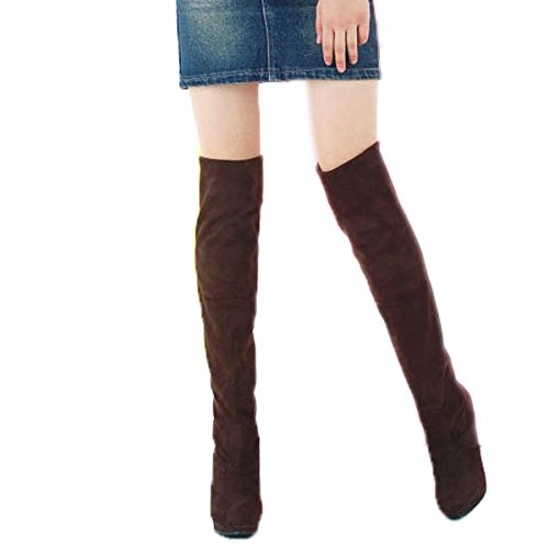Minetome-Women-Fashion-Thigh-Over-Knee-Stretchy-Shoes-High-Heel-Boots