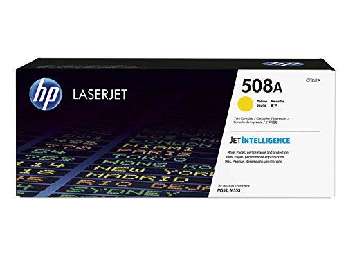 HP 508A (CF362A) Gelb Original Toner für HP Color Laserjet Enterprise M552dn, M553, M577 -