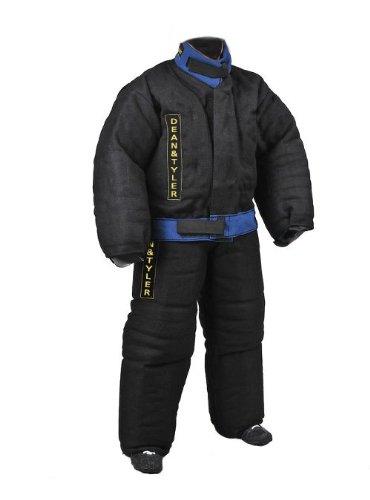 Dean & Tyler Full Schutz Bite Anzug, starkes Französisches Leinen–schwarz/blau–Größe: groß (H: 5,6bis 5.10-feet, W: 165bis 176-pounds)