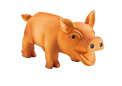 HUNTER SQUEEZY PIGGY Hundespielzeug, Latex, mit Quietscher, Schwein, 25 cm, - Quitsch Hundespielzeug