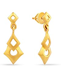 Malabar Gold & Diamonds 22k (916) Yellow Gold Drop Earrings for Women