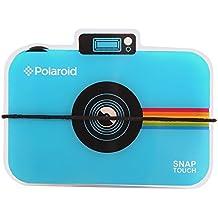 Polaroid álbum de fotos de cámara Snap Touch. Álbum de estilo acordeón que contiene 12 fotos para papel de foto Zink 2x3 (Snap, Zip, Z2300). Azul.