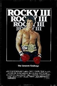 Rocky III reproduction photo affiche du film 40 x 30