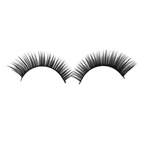 Focus Frauen Mädchen Lange Dense Synthetic Fiber Falschen Wimpern für Kosmetik Make-up