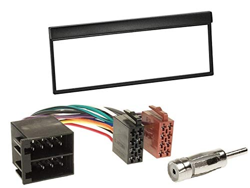 Pioneer-MVH-S110UI-1-DIN-Autoradio-mit-USB-AUX-Shortbody-fr-Skoda-Fabia-6Y-1999-2004-schwarz