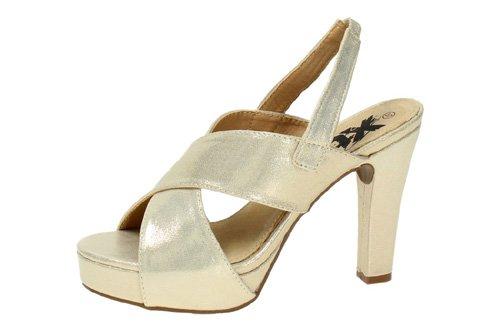 XTI , Sandales pour femme Or