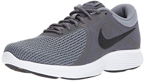 Nike Men's Revolution 4 Dark Grey/Black Cool Grey Running Shoe 8 Men US