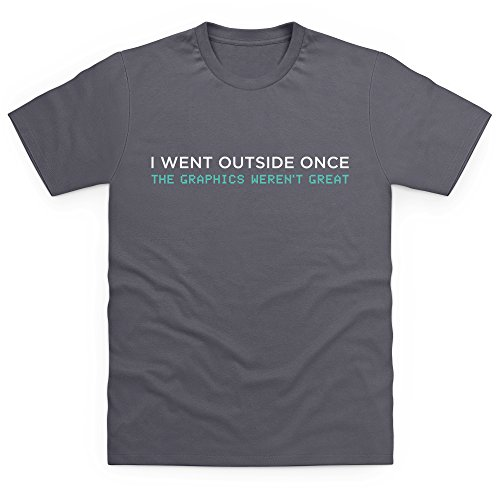 graphics-t-shirt-herren-anthrazit-l