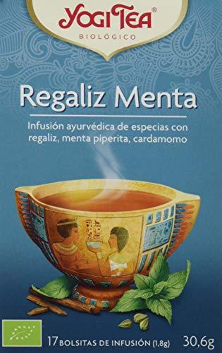 Yogi Tea Infusión de Hierbas Regaliz Menta - 17 bolsitas - [confezione...