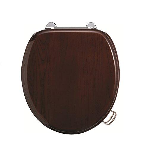 Burlington (Holz Mahagoni Standard-WC-Sitz - Standard-traditionellen Holz