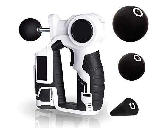 CHENGL Massagepistole für tiefes Muskelgewebe, Muskelpistole   Tragbares Schlagzeug - Massagegerät Massagepistole für Muskelkater und Erholung, Tiefengewebemassagegerät