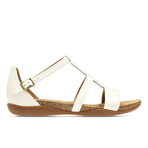 Clarks Autumn Fresh, sandales Femme Blanc