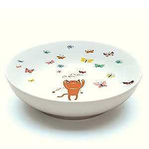 Assiette creuse Chatmallow vaisselle en porcelaine Djeco pour bébé et enfants