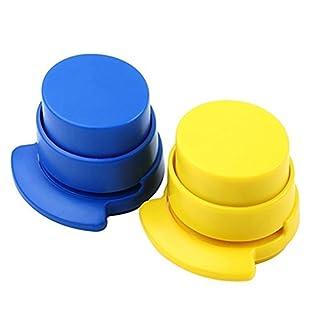 Klammerfreier Mini-Tacker, Papierbinder / Heftgerät für Büro und zu Hause, 1 Stück