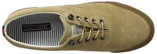 Tommy Hilfiger Y2285armouth 1b, Sneakers Basses Homme Beige (Cashmere)