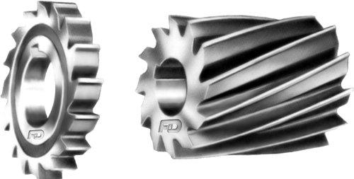 F & D Tool Company 10536-a162einfach Fräser, hell Pflicht, High Speed Stahl, 7,6cm Durchmesser, 11/10,2cm Breite von Gesicht, 11/10,2cm Loch Größe