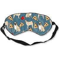 Natural Silk Eyes Mask Sleep Cute Pugs and Pizza Blindfold Eyeshade with Adjustable for Travel,Nap,Meditation,... preisvergleich bei billige-tabletten.eu