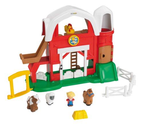 Little People - Set de Juego, Granja Sonidos Divertidos (Mattel Y9358)