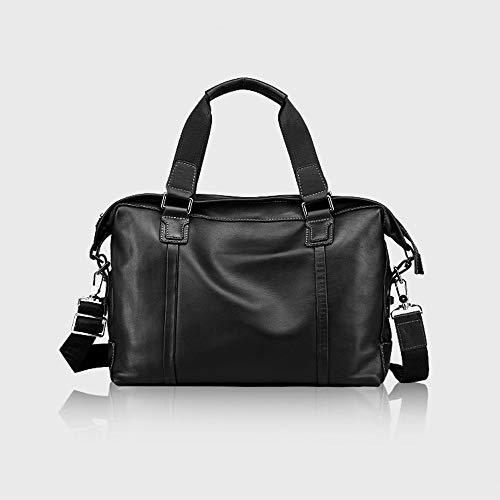 (Herrentasche Großhandel Leder Herren Handtaschen-Kreuzgang Computertasche erste Schicht Leder Business Aktentasche)