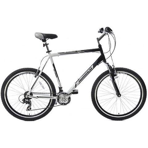 ammaco Gran Roc 21Velocità UOMO/RAGAZZO Mountain Bike Sospensione Ruota 26