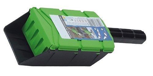 Streuschaufel für Streusalz, Handstreugerät, Handstreuer, Größe 99x290mm, Fassungsvermögen 0,7 l