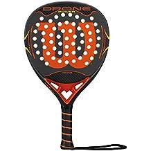 WILSON Drone Power Paddle RKT Gyor - Pala de pádel, Color Gris/Naranja,