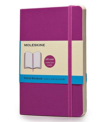 Moleskine Taccuino Notebook Classic, Tascabile, Puntinato, Viola