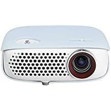 LG PW800G - Proyector Minibeam Portátil (WXGA, LED, 1280 x 800, contraste 100,000:1, 800 lúmenes) - Blanco
