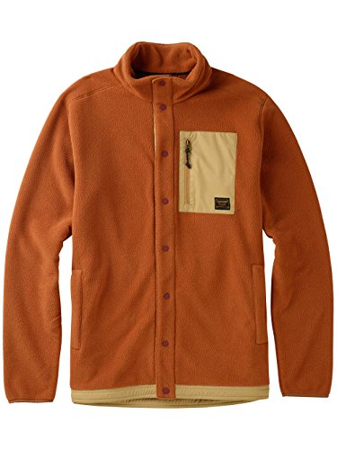 Burton Herren Hearth Snap-Up Fleece Fleecepullover true penny