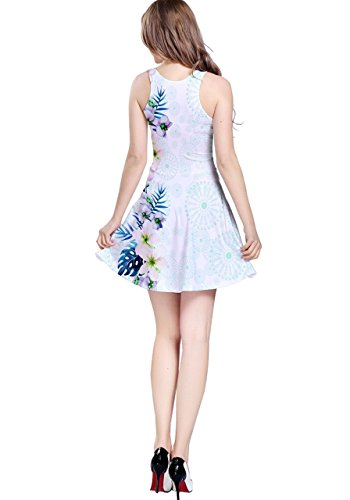 CowCow - Robe - Femme Bleu Blue Hawaii Light Blue Hawaii 2