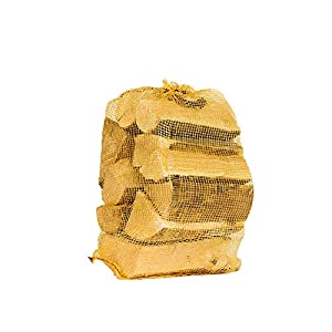 Oak Kiln Dried Hardwood Logs 10kg Net. - Perfect Firewood for Log-Burners, Wood Burning Stoves, Open Fires, Pizza Ovens - Free & Fast Delivery (1x10kg)