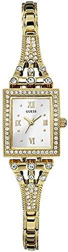 Guess Damen-Armbanduhr Analog Quarz Edelstahl W0430L2