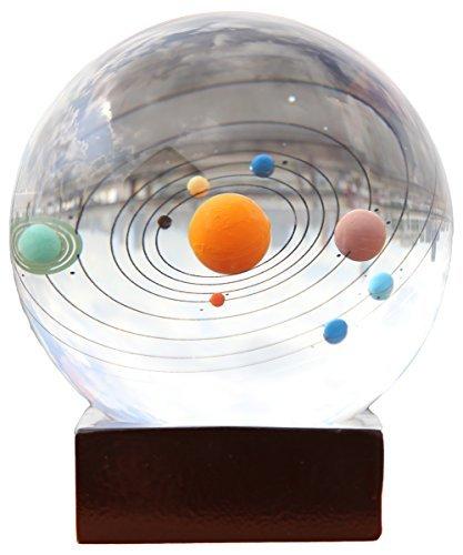 Berry Präsident ® 3d-Lasergravur-Solar System Briefbeschwerer Home Decor Geschenk 7.87 cm