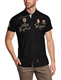 Redbridge Herren Regular Fit Freizeithemd R41604A
