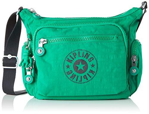 Kipling Damen GABBIE S Umhängetasche, Grün (Lively Green) 29x22x16.5 cm