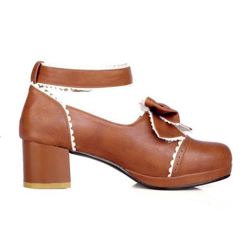 Chaussures BalaMasa marron femme OuQPL