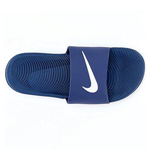 Nike Mens Kawa Slide Navy Synthetic Sandals 46 EU -
