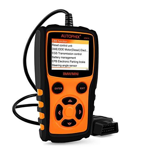 Trouble Meter ES910 Scanner OBD2 Obdii-Leser-Automobildiagnoseprüfvorrichtung überprüfen Motor-Getriebeabs-Airbag-Fehlercodes Scan-Werkzeug mit Epb SAS, Batterie-Ausrichtung und klaren Anpassungen