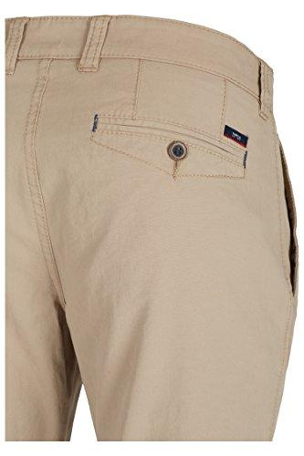 Pantalon 677185Coupe Pierre hattirc Beige - Stone
