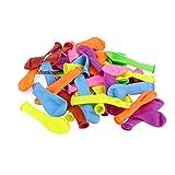 Monicaxin 1000 Palloncini dacqua, Gavettoni, colorato fluorescente, facile da riempire 12CM(assortiti/1000)