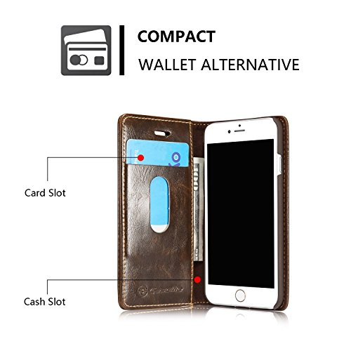 Excelsior Leather Wallet Flip Cover Case for Samsung Galaxy C7 Pro - Brown