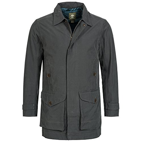 Timberland-Mens-Baker-Mountain-2-in1-Waterproof-Trench-Coat-Cappotto-5853j-di-041