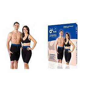 blue belt pants Anti Cellulite Hose, Schwitzhose zum Abnehmen, Ideal für Feine Oberschenkel und Gekräftigten Po
